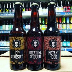 New Beers. Bourbon Impy Stout Doppelbock & Triple IPA by a new small Kirkstall based brewery -  @wildechildbrewing
