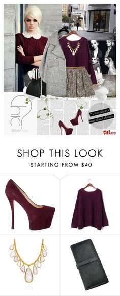 """""""mad about clothes"""" by hug-voldemort ❤ liked on Polyvore featuring Giuseppe Zanotti, Chanel, Daphne, PLANT, Pippa Small, Chicwish, bib necklaces, floral skirts, platform heels and suede pumps"""