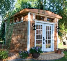 Home Carpentry, DIY Landscaping  Garden, Home Remodeling Projects, Storage Projects - Cabana Shed Project Plan for-the-home