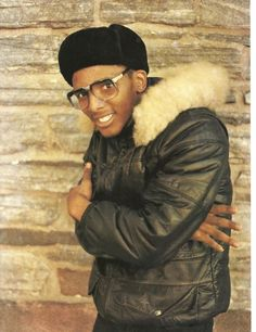 """Jeff posing in front of the famed brick wall on Church and Flatbush avenue. Hip Hop Fashion, 80s Fashion, Look Fashion, 80s Hip Hop, Hip Hop Rap, Rap Songs, Rap Music, Jamel Shabazz, Old School Fashion"