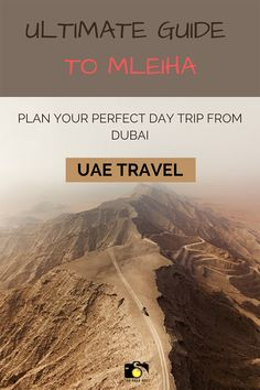 Looking for interesting day trips from Dubai? Mleiha is an absolute must visit destination in nearby Sharjah emirate, UAE. Check this ultimate guide to Mleiha to find awesome things to do from dune bashing, desert safari to famous fossil rock hike and mleiha archeological center. | uae travel |uae travel guide | uae road trip | dubai travel guide #uae #dubai #mleiha #dubaihiking #fossilrockhike #uaehiking #uaetravelguide #thingstodoindubai Dubai Travel Guide, Sharjah, Dubai Uae, United Arab Emirates, Awesome Things, Hiking Trails, Day Trips, Dune, Fossil