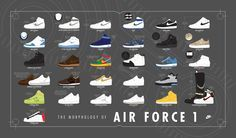 new arrival 84527 fad5e Nike Airforce 1, Air Force 1, Over The Years, Sports News, Air