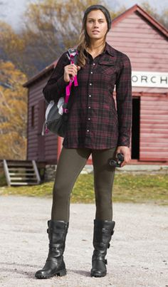 Shop by Sport: Hike & Explore Outfit Ideas | Athleta  I love casual fall outfits. Especially the boots here