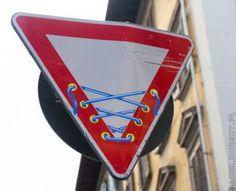 Znaki Florencji 2014,  Street Art sign Florence