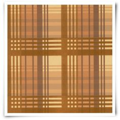 Mulberry Home Modern Tartan Flock Wallpaper