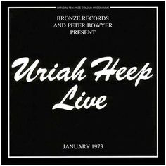 Uriah Heep, Live (3.83): If there's any one argument for including Uriah Heep on this list of the 101 best metal albums of the 70s, then this is it. The band travels through their catalog in sublime fashion, bringing the heavy at each step, and it comes off quite well. Except for the ending medley, which I just find to be boring and unnecessary. I've said it before, but if you close a show with something other than your own stuff... then maybe you don't belong on stage to begin with. 9/26/16