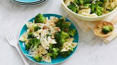 Look at this recipe - Bow Tie Pasta with Broccoli and Peas - from Ina Garten and other tasty dishes on Food Network.