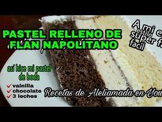 Cake Recipes, Cake Decorating, Choco Flan, Sweet, Desserts, Cakes, Tips, Sprinkles, Cake