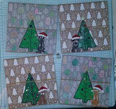 L'AUCA DE L'ANNA: Postals de Nadal 2017 Advent Calendar, Anna, Holiday Decor, Home Decor, Decoration Home, Room Decor, Interior Decorating