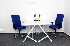 Office rooms - blue room