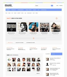 social networking templates