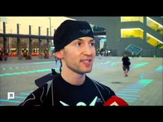 Neo M Visual Drums. Reportaje con el artista que hace la luz y la percusión todo un espectáculo