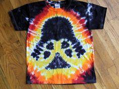 Youth Darth Vader Star Wars Tie Dye T-shirt - Custom Youth Sizes XS, S, M, L…
