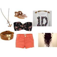 "1D AND anchors?! Yes please.  ""One Direction concert"" by samantha72797 on Polyvore"