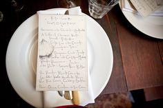 corson building vegetarian wedding menu