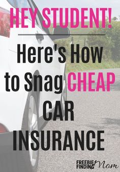 Listen up student! Cheap car insurance is calling your name and with these tips you'll discover snagging it is easier than you may think.