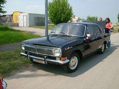 Dieser Wolga M24 kahm am Nachmittag des 1.Mai noch zum Oldtimertreffen am Nutzfahrzeugmuseum Hartmannsdorf