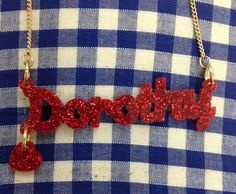 We can't wait to see Oz the Great and Powerful. This Name Necklace is inspired by one of our favourite Hollywood Heroines.