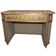 Fabulous Mid-Century Italian Desk or Vanity