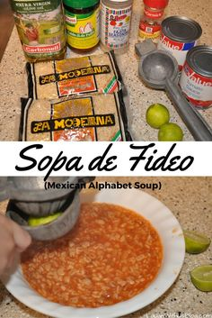 Yummy Mexican Sopa! A kid favorite! 40+ years of making this recipe.