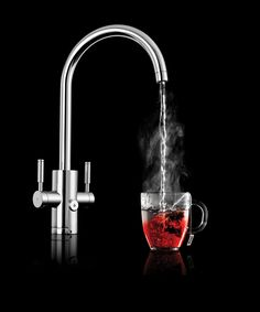 Rangemaster GEO - 4-in1 tap offering hot, cold, filtered and 98 degree hot water