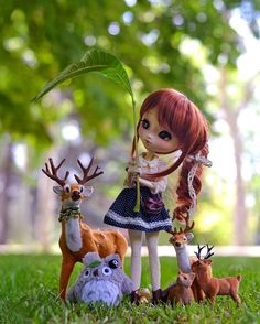 I think it will rain  but don't worry the little animals of the forest will be safe under Aki's leaf umbrella ☔  #instadoll #dollphotography #dollinsta #dollstagram #doll #dollphoto #dollphotogallery #pullipdoll #pullip #poisongirldolls #poisongirl #deer #cute #totoro #toyphotography #toy #japandoll #japantoy #ghibli #leaf #leafumbrella #toys #groovedolls #junplanning #sweet #photography