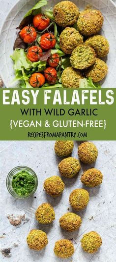 Falafel lovers, come check out this Easy Falafel Recipe. Because they are Baked Falafels the are lower in calories, a than their traditional counterpart. Double or triple this recipe and serve as a starter at your foodie gatherings. Delicious Vegan Recipes, Gluten Free Recipes, Healthy Recipes, Amazing Recipes, Delicious Snacks, Indian Food Recipes, Dog Food Recipes, Veggie Recipes, Snack Recipes