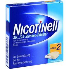 NICOTINELL 35mg 24Stunden Nikotinpflaster transdermal:   Packungsinhalt: 7 St Pflaster transdermal PZN: 03764531 Hersteller:…
