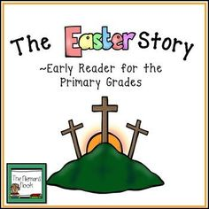 Your early readers will enjoy reading about the crucifixion and resurrection of Jesus all on their own! This Bible based story summarizes the Gospel of Matthew chpts 26-28. There are 1-2 sentences of text per page, repetitive text that utilizes high frequency words, and important Bible vocabulary.