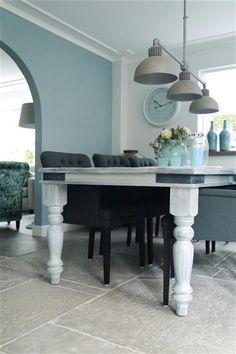 Blue and grey - Frisse kleuren