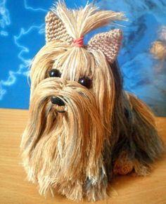 Amigurumi Animals Patterns Free : Free Crochet Yorkie Dog Pattern With Video So cute ...