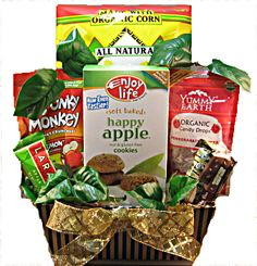 Gluten Free Vegan Gift Baskets- Christmas, Mother's Day, Father's Day