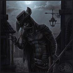 Steampunk Plague Doctor by Cthulhu-Great.deviantart.com on @deviantART