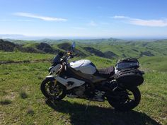 BMW S1000R on the PCH sporting some Hepco & Becker luggage and Ermax windscreen