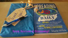 Book review and giveaway: Spreading Joy Daily by: Marie Wikle