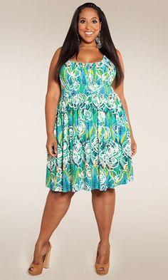 LOVE THIS! Plus Size Dress Plus Size Fashion at www.curvaliciousclothes.com Size 1X-6X