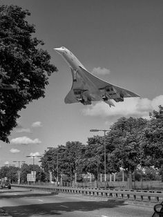 Concorde (via Old Pics Archive on Twitter)
