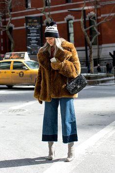 Неделя моды в Нью-Йорке F/W 2015: street style. Часть 4 (фото 13)