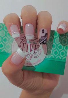 15 fresh design ideas for almond-shaped nails. Manicure And Pedicure, Gel Nails, Acrylic Nails, Nail Polish, Cute Nails, Pretty Nails, Nail Decorations, Cute Nail Designs, French Nails
