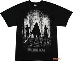 Michonne Wakers Walking Dead Shirt