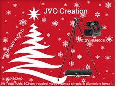 Offerta di Natale! JVC Creation  Camcorder JVC GY HM600E + Kit Manfrotto MVK502AQ  Kit Testa fluida 502 con treppiedi video a gamba singola in alluminio e borsa Info: https://www.adcom.it/it/ripresa-registrazione/camcorders-hd-hd-ready/1-3/jvc-creation-gy-hm600e-promo-christmas/p_n_14_347_2849_37510
