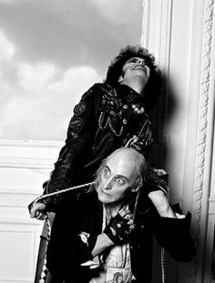 Dr Frank-N-Furter and Riff Raff, 'The Rocky Horror Picture Show', 1975. S)