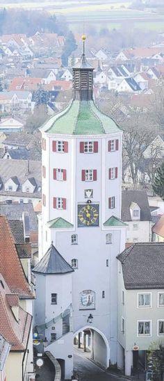 Stadtturm Günzburg, Bavaria, Germany