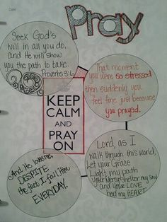 Pray scripture bible journal page