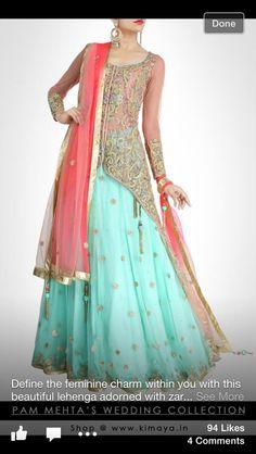 You Beauty, Kisneel by Pam Mehta https://Exclusively.In/designers/kisneel-by-Pam-Mehta via http://Kimaya.In/designers/pam-mehta
