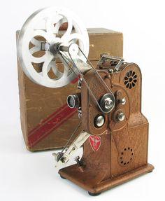 Stewart-Warner 16mm Movie Projector (model 537-A)
