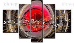 Tableau sur toile abstrait. Laissez-vous guider par votre imagination!