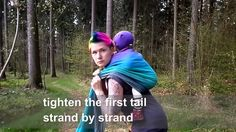 She does  the BEST babywearing carry tutorials.  Always gives the wrap size, shows all the steps, and no blathering on.  The videos are quick and to the point.  Very well done!  And her hair for the win!  Awesome all around!