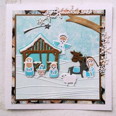 Marianne Design Collectables Cutting Dies - Nativity Set COL1395