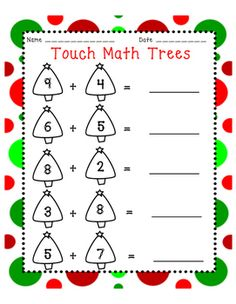 Touch Math Triple Digit Subtraction Worksheets   Touch math ...